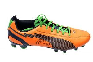Radamel Falcao AS Monaco Colombia Roma At Madrid * Hand Signed * Football Boot