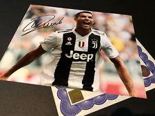 Cristiano Ronaldo Juventus Authentic Signed 10x8 Photo Genuine autograph + COA