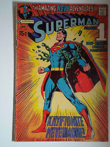 Superman #233 (1971) DC Comics 3.0 GD/VG Comic Book