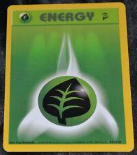 Pokemon 4x Grass Energy Card Base Set 2 127//130 NM//M Condition