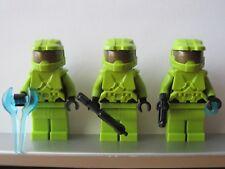 Lego HALO Trio Lime SPARTAN MASTER CHIEF Minifig NEW