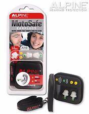 Motosafe Ohrstöpsel Alpine Motorrad Motorradfahren snr17 snr18 Gehörschutzstöpsel Moto Safe