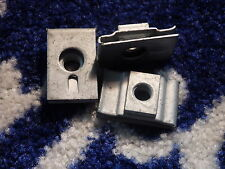 FORD SIERRA MK1 FUEL TANK  RETAINING CLIPS NEW OLD STOCK X 3