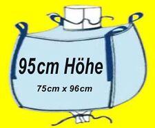☀️ 10 Stück BIG BAG - 95 cm hoch -  75 x 96 cm Bags BIGBAGS Säcke CONTAINER 1 to