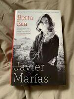 Berta Isla, Javier Marías, exclusive signed edition, October 2018