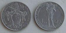 Vatikan / Vatican State 2 Lire 1940-1941 p27a unz.