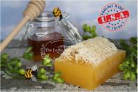 Sweet Honey Luffa Soap  Handmade Soap with Loofah