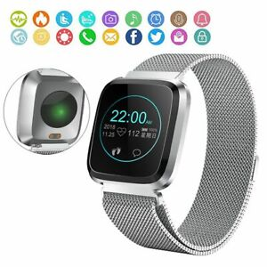 Touch Screen Bluetooth Smart Watch Sleep Tracker for Samsung iPhone XS MAX X 8 7