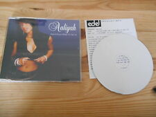 CD POP Aaliyah-Don 't Know What to Tell Ya (4) canzone PROMO preziose Unique + presskit