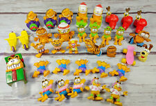Lot / 35 Collectible Garfield the Cat & Odie PVC Figures Figurines Vintage Toys