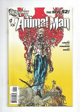 ANIMAL MAN #1 new 52! 1st print, jeff lemire travel foreman, 9.4 NM, DC