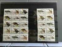 Transkei Fly Fishing 1981 mint never hinged strips and pairs stamps R24552