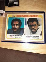 1978 Topps Football - #332 - Ahmad Rashad - Minnesota Vikings VINTAGE FOOTBALL