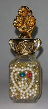 ADRIAN Perfume MINI Bottle with Beads Decorations Good Condition