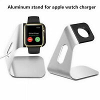 Aluminum Charging Cradle Stand for Apple Watch Holder Charger Mount Dock Base