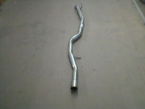 BMW E46 320d 318d 98-05 Exhaust Rear Silencer REMOVAL DELETE PIPE NOISEY !