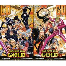 Manga ONE PIECE FILM GOLD VOL.1-2 Comics Complete Set Japan Comic F/S
