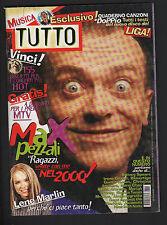 TUTTO 11/1999 883 STRUMMER LENE MARLIN RED HOT CHILI PEPPER CRANBERRIES BRITNEY