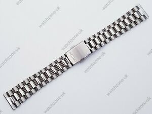 NEW 20MM STAINLESS STEEL GENTS WATCH STRAP STRAIGHT ENDS FOR CITIZEN (CZ-2)