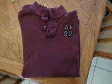 Mens Abercrombie & Fitch  100% Cotton Long Sleeve Sweatshirt Shirt, size M