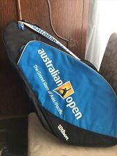 2008 AUSTRALIAN OPEN WILSON TENNIS BAG.  BRAND NEW, NEVER USED.