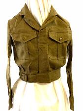 Korean War British Army Battle Dress Jacket Size 13 1953 Dated 1949 Pattern