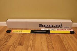 "BODYBLADE CXT Fitness Trainer In Home Workout 40"" Exercise Bar W/ Poster Guide"