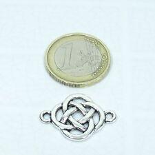 23/32i 00006000 n T540X Silver Tibetan Plate Celtic 23 Beads for Bracelet 0 31/32x0