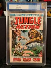 JUNGLE ACTION #1 CGC 9.4 JOHN BUSCEMA COVER 10/1972