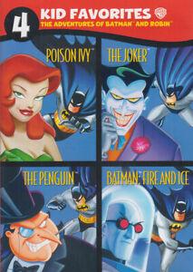 The Adventures of Batman & Robin (Quad Feature) New DVD