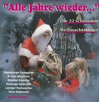 Alle Jahre wieder-Die 32 schönsten Weihnachtslieder Hymnus Chorknaben, Be.. [CD]