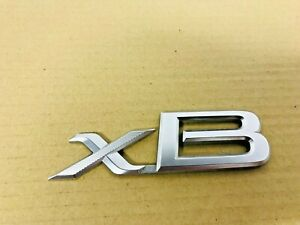 OEM 2004-2015 Scion xB Rear Trunk Emblem 75442-52190