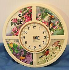 "Bird Decorative 11.5"" Wall Clock"