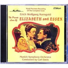 PRIVATE LIVES OF ELIZABETH AND ESSEX  Erich Wolfgang Korngold  CD  Pre Owned