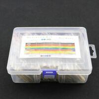 1460x 1/4W Metal Film Resistor Kit Assortment Set Labelled 1%Precision 73Value B