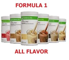 New listing HERBALIFE FORMULA 1 HEALTHY MEAL SHAKE MIX 750g ALL FLAVORS FREE SHIPPING