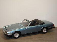 Jaguar XJ-S V12 Convertible - Tonka Polistil 2266 Italy 1:25 *35145