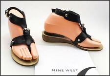 Nine West Buckle Wedge Sandals & Flip Flops for Women