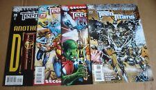 DC comic 2009 Teen Titans #74 - 77 4 book lot VF