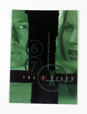 "2001 INKWORKS ""X-FILES"" SEASONS 6 & 7 PROMO TRADING CARD - V/Good Condition"