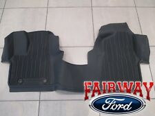 15 thru 18 Transit OEM Ford Tray Style Rubber Tray Floor Mat Set 2-pc for CARPET