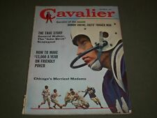 1961 DECEMBER CAVALIER MAGAZINE - JONNY UNITAS - GREAT COVER - SP 5995