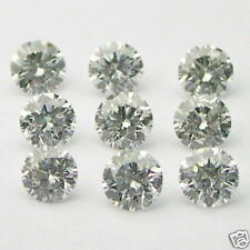 1/2 Carats 2mm WHITE ROUND BRILLIANT POLISHED DIAMONDS