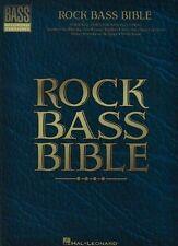 Rock Bass Bible by Hal Leonard Corporation (Paperback, 2013)