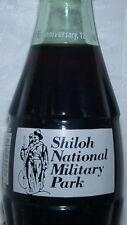 Shiloh Military Pk Civil War 100 Coca-Cola Coke Bottle