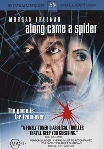 NEW SEALED Along Came A Spider MORGAN FREEMAN *No GST* (DVD, 2002) FREE POSTAGE