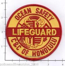 Hawaii - Honululu City and County Lifeguard HI Baywatch Fire Dept Patch