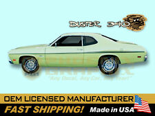 1970 Plymouth Duster 340 COMPLETE Decals & Stripes Kit