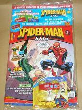 MAGAZINE SPIDERMAN KIDS N° 2 / NEUF SOUS CELLO AVEC SON CADEAU