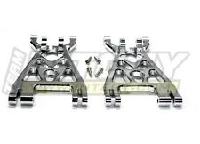 Integy Alloy Lower Arm (2) for HPI Savage-X, 21 & 25 T7089Silver